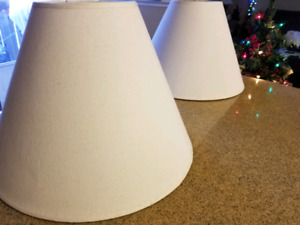 Pair Lamp Shades New