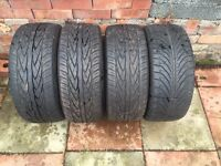 Part Worn tyres. 195/45/15 USED