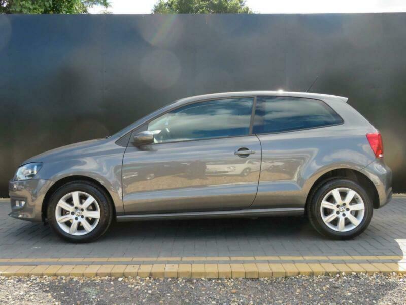 2012 Volkswagen Polo 1.2 Match 3dr Hatchback Petrol Manual