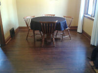 Dining room table with 4 chairs, only $50!