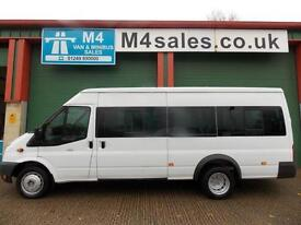 Ford Transit 135ps, 17st Minibus. Very Low Miles