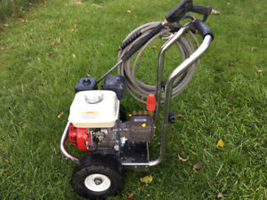 Honda commercial gas pressure washer 3200psi