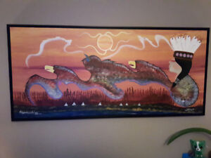 Original paintings by first nation artist
