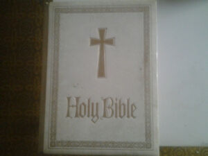 best offer 1978 catholic bible hard cover
