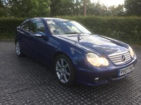2007 Mercedes-Benz C220 2.1TD auto Coupe CDI SE F/S/H