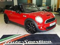 2013 MINI Convertible 1.6 Cooper S 2dr Petrol red Automatic
