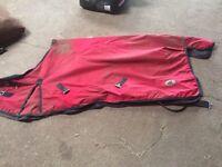 Rain sheet horse rug