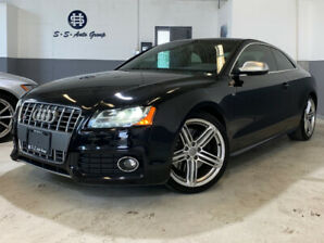 2010 AUDI S5 V8|NAV|BACK UP|ACCIDENT FREE|LOW KM|BLIND SPOT