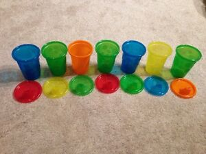 7 Brand New Sippy Cups