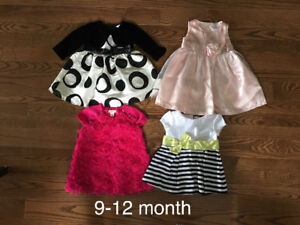 Baby Girl clothes -9 months