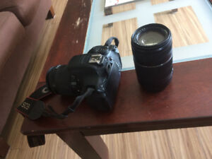 Canon 700D Camera and 2 lense