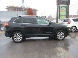 2016 Jeep Cherokee LIMITED- NAV * BACKUP CAM * LEATHER