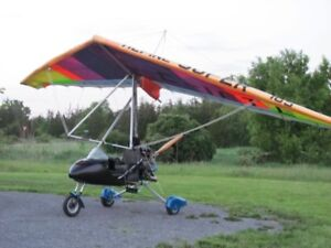 Ultralight Trike  complete with wing