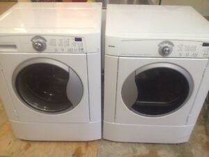 4- KENMORE Laveuse Secheuse Frontale Frontload Washer Dryer
