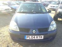 2004/04 Renault Clio 1.2 Authentique FULL MOT 1OWNER FROM NEW