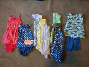 24 Month Girls Carter's Summer Lot