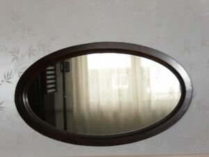 2 miroirs ovales