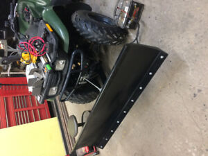 """52"""" wide atv  snow plows brand new with mount kit for most atvs"""
