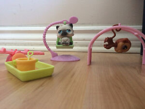 Littlest Pet Shop Mini Park Set