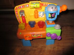 fisherprice laugh and learn workbench