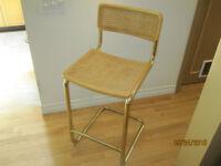 Chaise haute de comptoir De Breuer