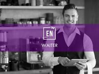 Waiting staff required for different restaurant and positions in London Part/Full time