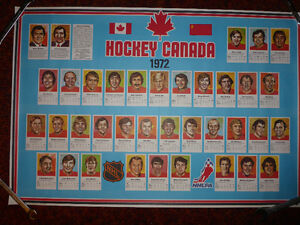 1972 Team Canada poster-The Summit Series Kitchener / Waterloo Kitchener Area image 1
