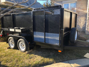 Double Axle Landscaping Trailer