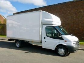 CHEAP BIG VAN & MAN 24/7 Urgent short notice removals for house,flat,office move & waste clearance