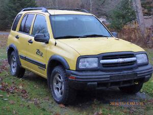 2003 Chevrolet Tracker ZR2 4X4 V6 Auto Pickup Truck