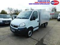 2.5 CDTI VAUXHALL MOVANO PERFECT ARBORIST TIPPER BRAND NEW TIPPER BACK UNUSED