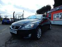 2008 Lexus IS 220d 4dr only 2 former keepers,full service history,low mileage...