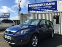 2010 59 FORD FOCUS ESTATE 1.6 TDCI ZETEC NAV - 12 MONTHS MOT - SERVICED -