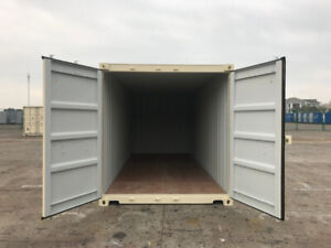 NEW ONE-TRIP SEA CAN SHIPPING CONTAINERS FOR SALE!