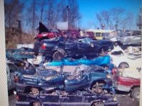 WANTED WE PAY TOP DOLLAR FOR ANY SCRAP CARS AND VANS AND TRUCKS