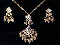 CHEAP INDIAN NECKLACE AND EARRINGS
