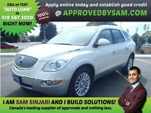 ENCLAVE - APPLY WHEN READY TO BUY @ APPROVEDBYSAM.COM