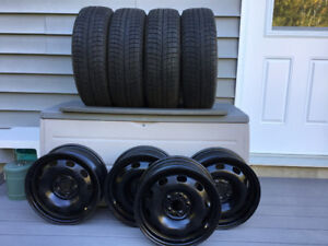 4 Michelin tires and 4 Rims