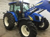 2013 T5070 new holland