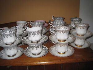 16 Royal Albert Anniversary Tea Cup/ Saucer Sets
