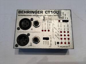 Microprocesseur contrôle Behringer ct100 (u007060)