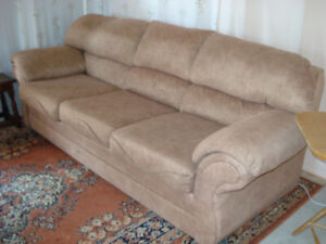 beige sofa - 3 seater
