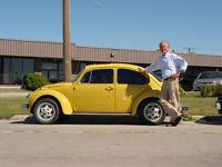 Classic 1973 VW Beetle