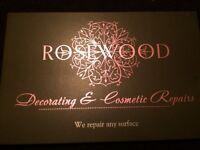 Rosewood, cosmetic repairs