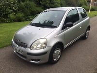 2004 54 PLATE TOYOTA YARIS T2 1.0 VVT 3 DR HATCH NEW CLUTCH JUST FITTED