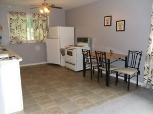 Clean and Furnished upstairs apt, By Night, Week or Month