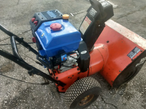 "Snowblower 10 hp, 26"" cut. Brand New Motor. Good working Con."