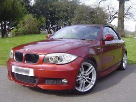 * * * * Fantastic 2009 BMW 118i M Sport Convertible Red * * * *
