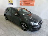 2014 Volkswagen Golf 2.0TDI 184 GTD DSG ADAPTIVE CRUISE, BUY FOR ONLY £91 A WEEK