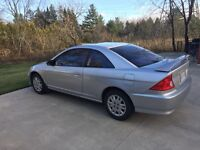 2004 Honda Civic, only 148,000kms!!!
